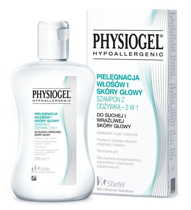 Physiogel, szampon pielęgnacyjny do o szczególnie wrażliwej, suchej, swędzącej skóry głowy (Cena: 45 zł, 250 ml)