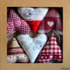 Zawieszki w kształcie serca, Kocikowo, Pakamera.pl, 65,00 zł za sześć sztuk