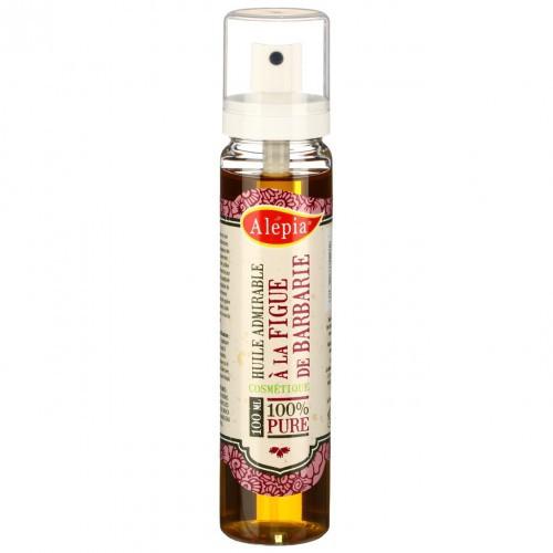 Olej wspaniały - olej arganowy, z czarnuszki, z róży damasceńskiej i pestek opuncji figowej, Alepia, ok. 80 zł za 100 ml
