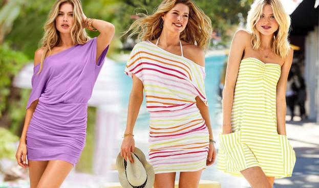 Plażowe sukienki Victoria's Secret