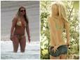 Gwiazdy zrzucają kilogramy.Metamorfozy gwiazd.Britney Spears