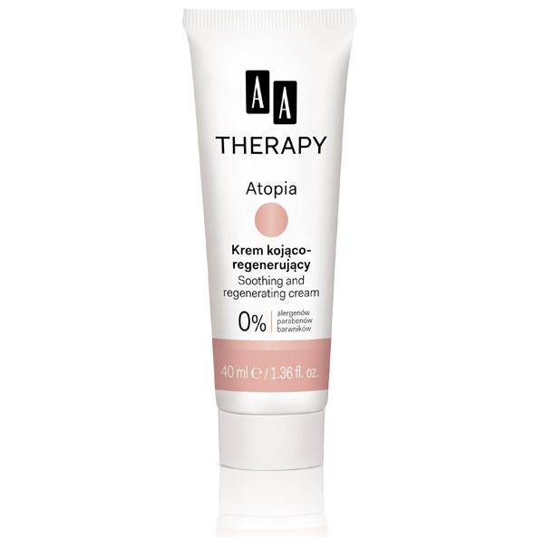 AA Therapy Atopia, krem kojąco-regenerujący (Cena: 22 zł, 40 ml)