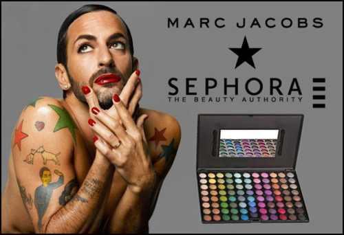 Marc Jacobs stworzy linię makijażu dla Sephory