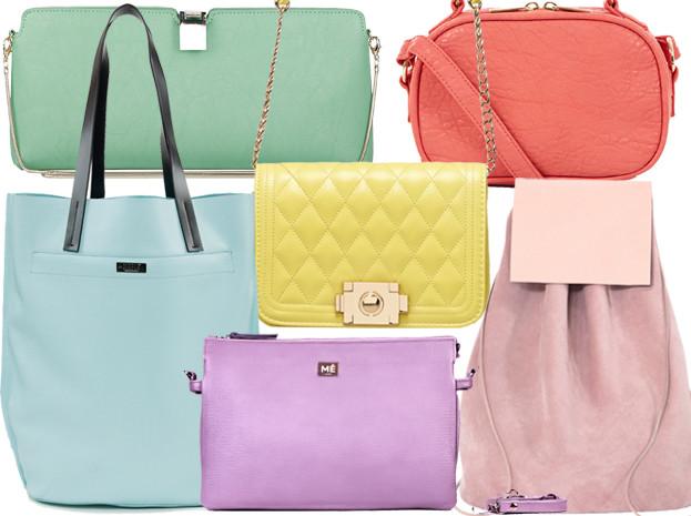 Kupujemy: pastelową torebkę