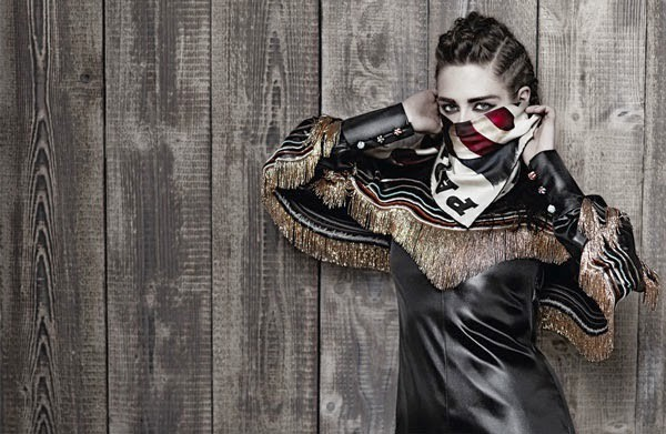 Kristen Stewart dla Chanel, fot. Karl Lagerfeld