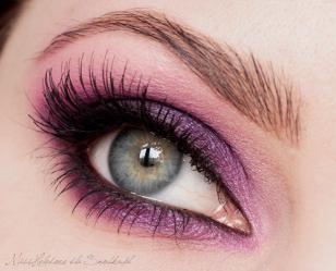 Makijaż:  Deep Purple