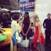 DKNY wiosna 2014, kulisy powstawania sesji na Times Square