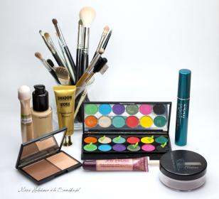 Makijaż: Zielony Listek