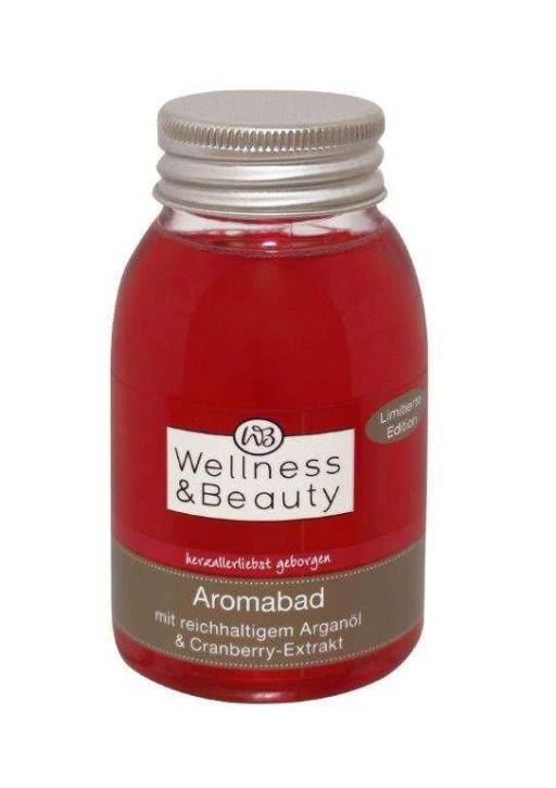 Wellness & Beauty olejek do kąpieli arganowy z ekstraktem z żurawiny