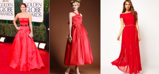 Najpiękniejsze czerwone sukienki.  Sukienki na studniówkę.