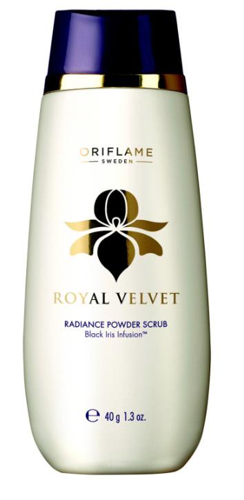 Oriflame, Royal Velvet, peeling do twarzy dla kobiet powyżej 40 roku życia (Cena: 49 zł, 40 g)