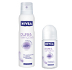 Nivea, Pure & Sensitive, antyperspirant spray (Cena: 11 zł, 150 ml), antyperspirant roll-on (Cena: 11 zł, 50 ml)