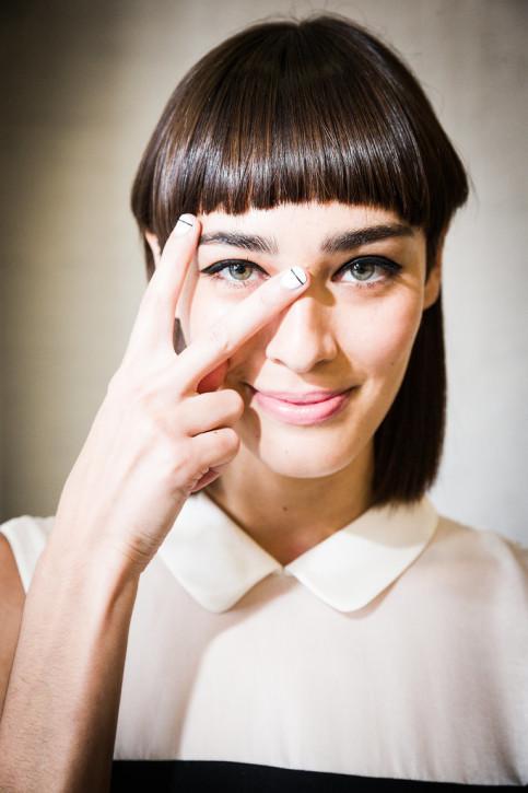 Biały manicure