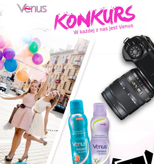 Konkurs: zostań twarzą kalendarza Venus