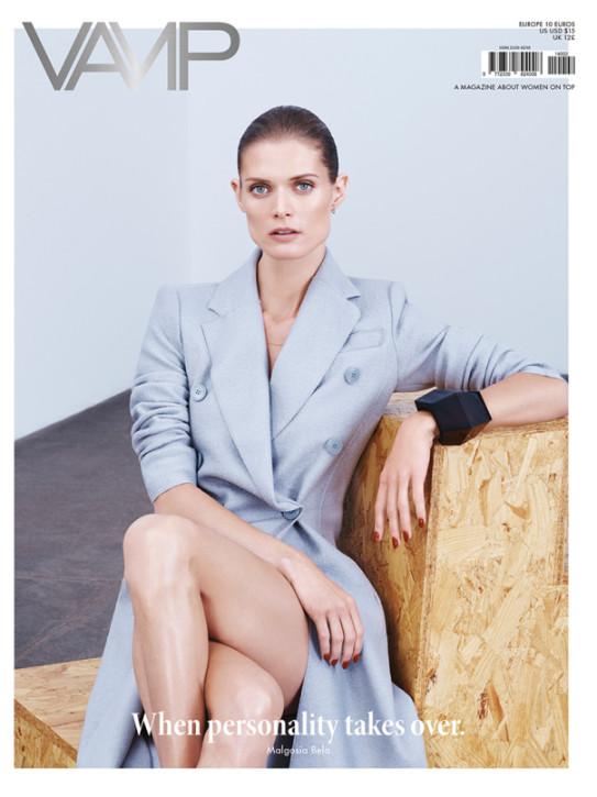 Małgosia Bela w Vamp Magazine, fot. Paola Kudacki