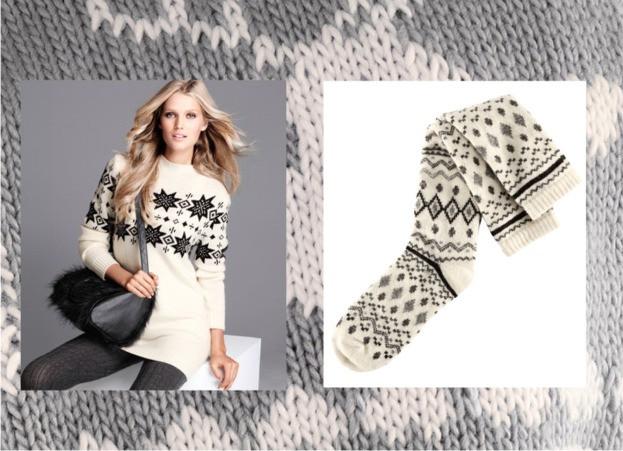 Norweskie wzory w H&M