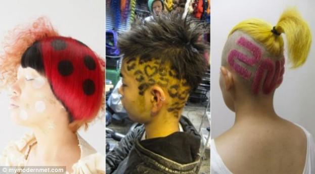 Nowe fryzury Japończyków