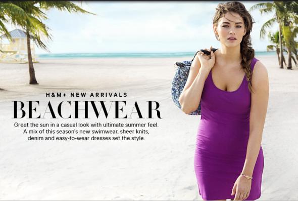 Jennie Runk w kampanii H&M