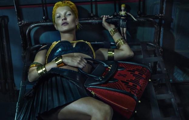 Kate Moss w kampanii Alexander McQueen