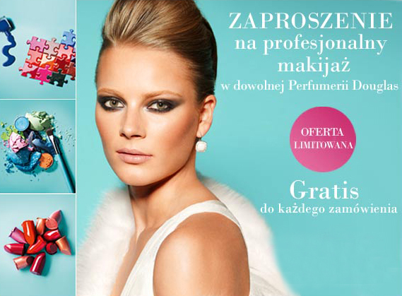Promocja: profesjonalny makijaż w perfumerii Douglas gratis