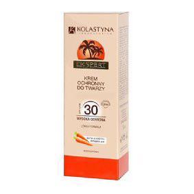 Kolastyna, krem ochronny do twarzy SPF30 (Cena: 13 zł, 50 ml)