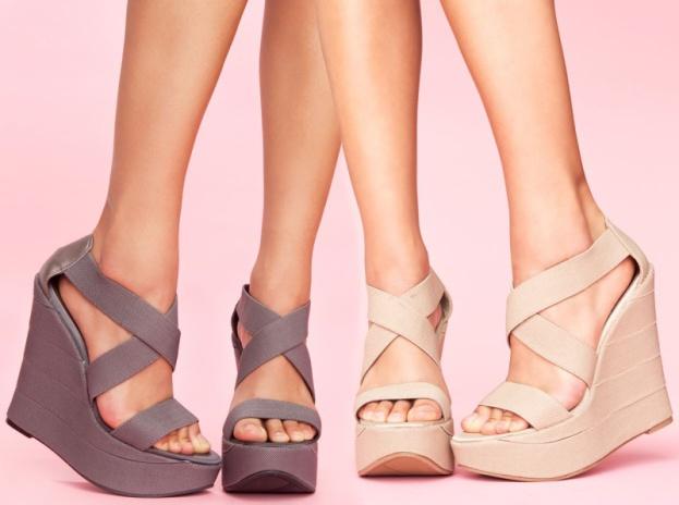 Seksowne sandały na upały