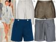 Moda z wybiegów: szorty w miejskim wydaniu
