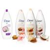 Dove, Go fresh Rebalance, żel pod prysznic o zapachu śliwki i kwiatu wiśni (Cena: 11 zł, 250 ml), Purely Pampering, żel pod prysznic, mleczko migdałowe i hibiskus (Cena: 11 zł, 250 ml), z masłem shea i wanilią (Cena: 11 zł, 250 ml), z mleczkiem kokosowym i płatkami jaśminu (Cena: 11 zł, 250 ml)