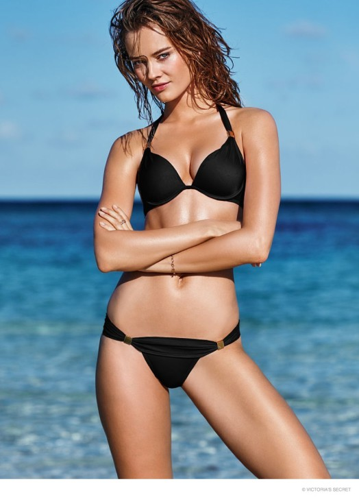 Monika Jac Jagaciak w kampanii Victoria's Secret