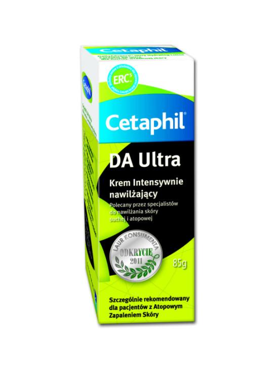 Cetaphil, DA Ultra, krem intensywnie nawilżający (Cena: 40 zł, 85 g)