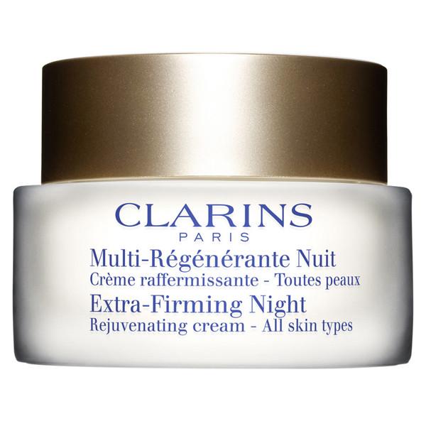 Clarins, Multi-Régénérante Nuit Crème raffermissante, Ujędrniająca i regenerująca pielęgnacja na noc, chroni komórki macierzyste (Cena: 339 zł, 50 ml)