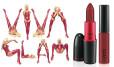 MAC, Viva Glam, Lipstick w kolorze intensywny burgundu matte (Cena: 86 zł), Lipglass w  kolorze intensywnego burgundu (Cena: 76 zł)