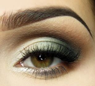 Maquiagem: Verde e Brown