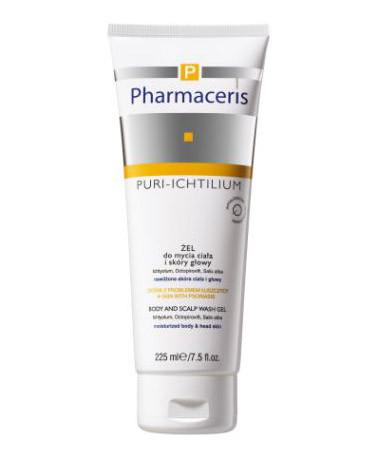 Pharmaceris, Puri-Ichtilium, żel do mycia ciała i skóry głowy (Cena: 31,50 zł, 225 ml)