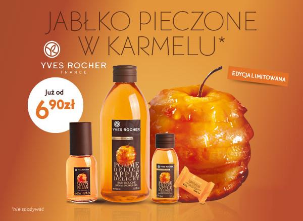 Linia tygodnia: pieczone jabłko w karmelu Yves Rocher