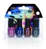 Orly, lakiery Electronica Mini Kit (Cena: 60 zł, 4 x 5,3 ml)