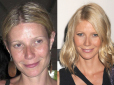 makijaż gwiazd, bez makijażu, gwiazdy bez makijażu, gwiazdy bez photoshopa, brzydkie gwiazdy, celebrytki bez makijażu ,Gwyneth Paltrow