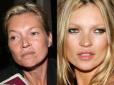 makijaż gwiazd, bez makijażu, gwiazdy bez makijażu, gwiazdy bez photoshopa, brzydkie gwiazdy, celebrytki bez makijażu ,Kate Moss