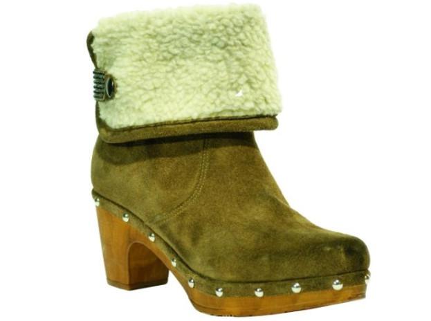 Hit jesieni: zielone kozaki Clemente Shoes