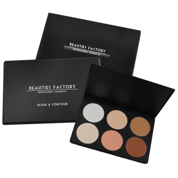 Beauties Factory, Contour palette (Cena: 40 zł)