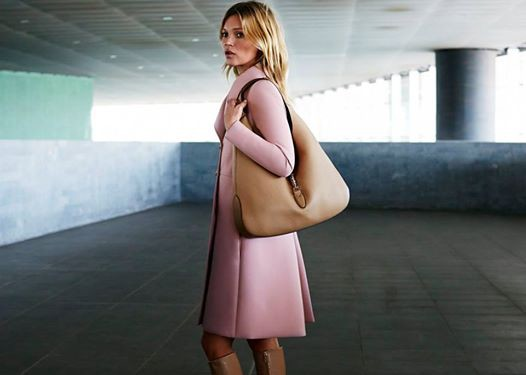 Kate Moss dla Gucci, kampania torebki Jackie 2014