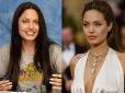 makijaż gwiazd, bez makijażu, gwiazdy bez makijażu, gwiazdy bez photoshopa, brzydkie gwiazdy, celebrytki bez makijażu Angelina Jolie