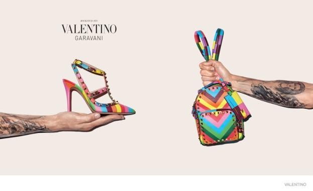 Terry Richardson w reklamie kolekcji Rock Runner 1973, Valentino Resort 2015