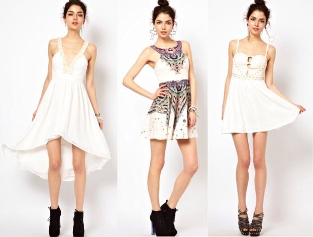 Sukienki na studniówkę. Biała sukienka na studniówkę