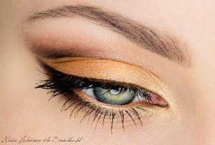 Makijaż: Pomarańczowe Złoto