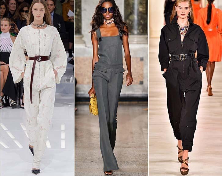 Eleganckie kombinezony w wydaniu Diora, Emilio Pucci i Ralpha Laurena
