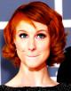Najmodniejsze kolory włosów 2013. Rudy w odcieniu pomarańczowym