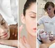 Bandi, Migdałowy Blask, zabieg złuszczania kwasem migdałowym i polihydroksykwasami (czas zabiegu: ok. 1 godz.,  cena: 120 zł), wskazania: fotostarzenie skóry – hiperpigmentacje, szorstkość skóry, zmarszczki i bruzdy, przebarwienia pigmentacyjne (pozapalne, posłoneczne, ostuda), trądzik pospolity z obecnością zaskórników i wykwitów zapalnych, łojotok skóry, blizny potrądzikowe, rozszerzone pory, skóra naczyniowa, trądzik różowaty, skóra sucha z nadmiernie złuszczającym się naskórkiem, skóra zszarzała i pozba