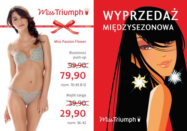 Promocja: wyprzedaż międzysezonowa Miss Triumph